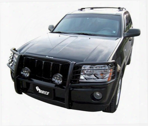 Aries Offroad Aries Offroad Bar Grille/brush Guard (black) - 1046 1046 Nerf/step Bar Wheel To Wheel