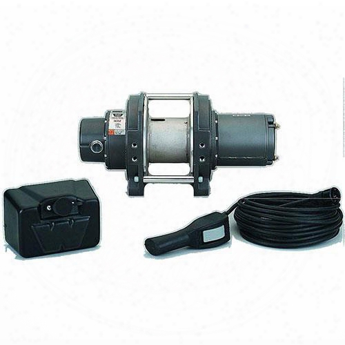Warn Warn Dc1600 Lf Industrial Dc Hoist - 85159 85159 Up To 2,500 Lbs. Industrial Winches