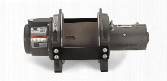 Warn Warn Dc3000 Industrial Dc Hoist - 85251 85251 3,000 To 6,000 Lbs. Industrial Winches