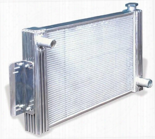 Flex-a-lite Flex-a-lite Crossflow Radiator - 56000l 56000l Radiator Electric Fan Combination Kit