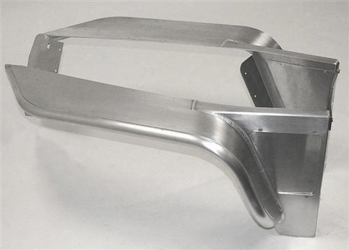 Genright Genright G-3 Tube Fender (aluminum) - Tff-2810 Tff-2810 Tube Fendes