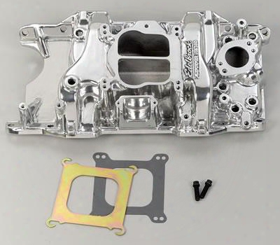 Edelbrock Edelbrock Performer 318/360 Intake Manifold (polished) - 21761 21761 Intake Manifold
