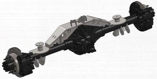 Artec Industries 14-bolt 1-ton Swap Kit With Truss Tj1415 Axle Truss