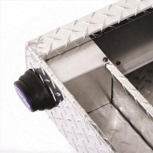 Dee-zee Dee Zee Blue Label Single Lid Crossover Tool Box - Dz9170w Dz9170w Truck Bed Rail To Rail Toolbox