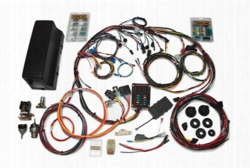 Painless Wiring Painless Wiring Direct Fit 1966-1977 Bronco Harness W/switches - 10113 10113 Chassis Wire Harness