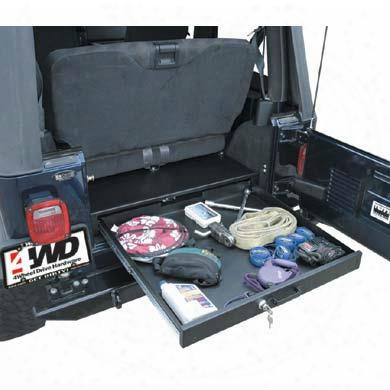Tuffy Tuffy Full-length Underseat Security Drawer - 13001 13001 Underseat Storage Box