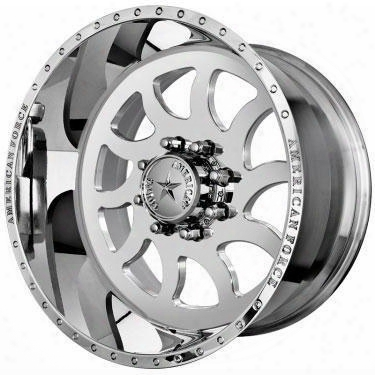 American Force Wheels American Force 20x10 Wheel Compass Ss - Polish- Aft10417 Aft10417 American Force Wheels