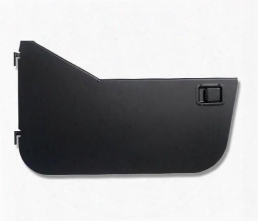 Warrior Warrior Smooth Black Steel Half Doors With Slider Paddle Handles (black) - S904door S904door Door