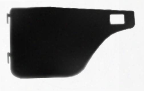 Warrior Warrior Smooth Black Steel Half Doors With Slider Paddle Handles (black) - S905door S905door Door