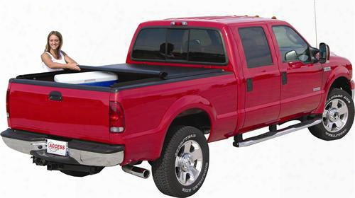 Access Cover Access Cover Lorado Low Profile Soft Roll Up Tonneau Cover - 43129 43129 Tonneau Cover