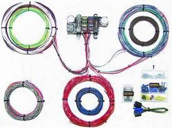 Painless Wiring Painless Wiring 18 Circuit Basic Customizable Chassis Harness - 10308 10308 Chassis Wire Harness