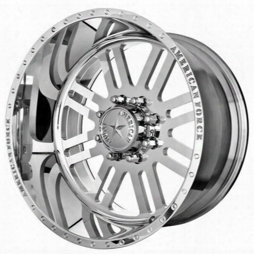American Force Wheels American Force 20x14 Wheel Rebel Ss - Polish- Aft30769 Aft30769 American Force Wheels