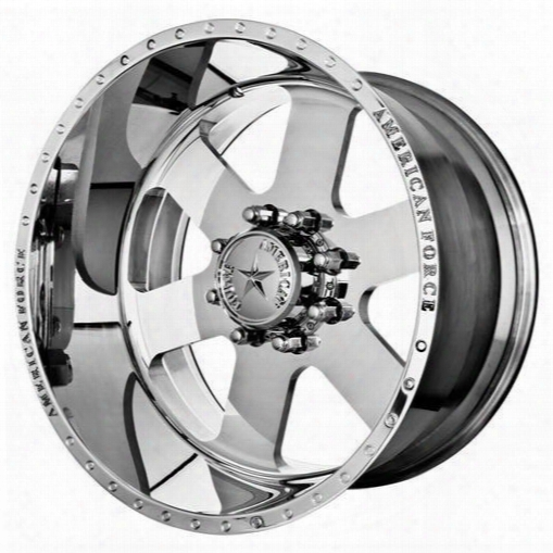 American Force Wheels American Force 20x14 Wheel Judge Ss - Polish- Aft30897 Aft30897 American Force Wheels