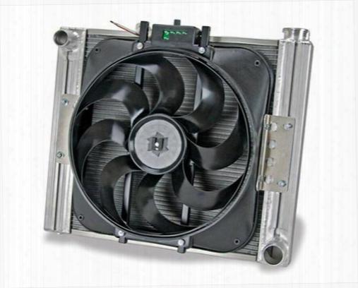 Flex-a-lite Flex-a-lite Crossflow Radiator And Fan Package - 61160l 61160l Radiator Electric Fan Combination Kit
