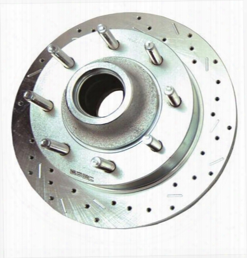 Stainless Steel Brakes Stainless Steel Brakes Big Bite Cross Drilled Rotors - 23575aa3r 23575aa3r Disc Brake Rotors