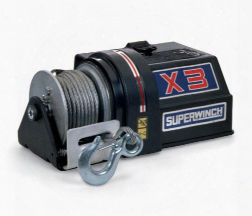 Superwinch Superwinch X3 Winch - 1301 1301 3,000 To 6,000 Lbs. Industrial Winches