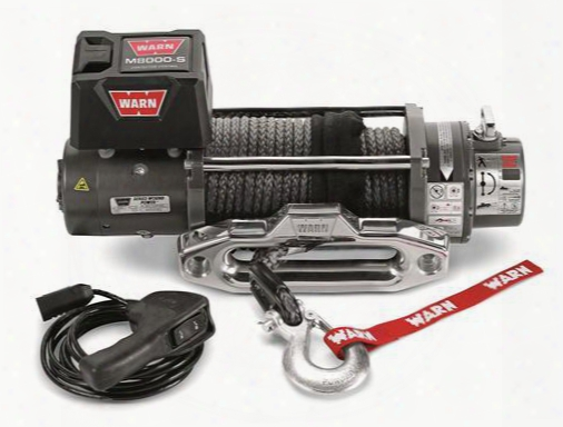 Warn Warn M8000-s Self-recovery Winch - 87800 87800 8,000 To 10,500 Lbs. Electric Winches