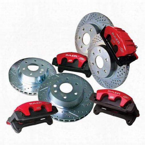 Baer Brakes Baer Brakes Baer Brake Sytems (red) - 4301154 4301154 Disc Brake Calipers, Pads And Rotor Kits