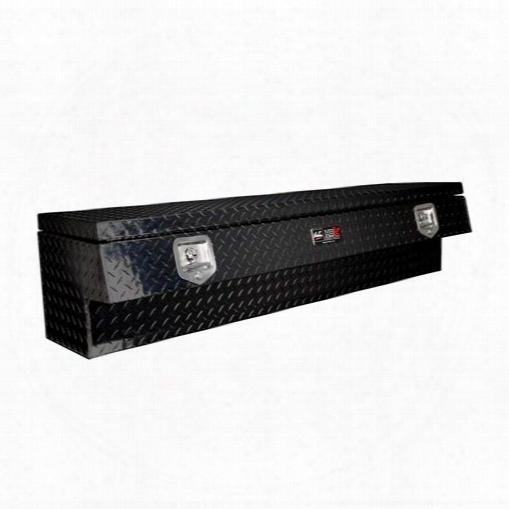 Westin Westin Hdx Series Low Sider Tool Box - 57-7115 57-7115 Truck Bed Rail To Rail Toolbox