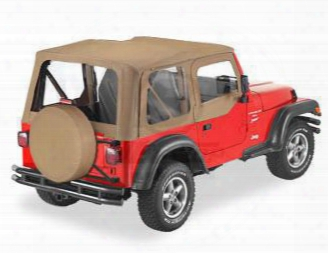 Jeep Bestop Replace-a-top W/ Clear Windows Spice 51121-37 Soft Tops