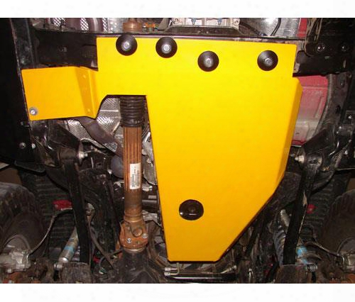 Rock Hard 4x4 Parts Rock Hard 4x4 Parts Oil Pan Transmission Skid (black) - Rh6000la Rh6000la Skid Plates