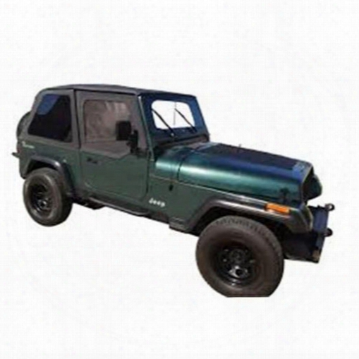 Rt Off-road Rt Off-road Bowless Soft Top With Tinted Windows (black Diamond) - Brt10135t Brt10135t Soft Tops