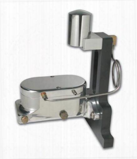Stainless Steel Brakes Stainless Steel Brakes Billet Aluminum Dual Bowl Master Cylinder - A0468-4 A0468-4 Brake Master Cylinder