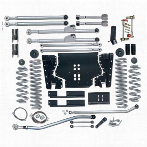 2002 Jeep Wrangler (tj) Rubicon Express 3.5 Inch Extreme-duty Long Arm Lift Kit With Rear Track Bar - No Shocks