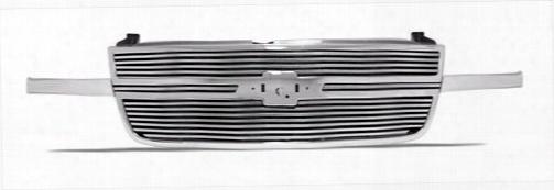 2003 Chevrolet Silverado 1500 Street Scene Speed Grille Inserts; Main Grille