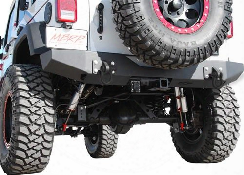 2010 Jeep Wrangler (jk) Off Camber Fabrications Full Width Rear Bumper Package
