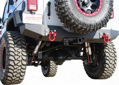 2010 Jeep Wrangler (jk) Off Camber Fabrications Rear Full Width Bumper With Line-x Coating