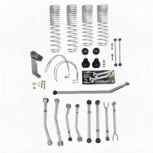 2010 Jeep Wrangler (jk) Rubicon Express Rubicon Express 3.5 Inch Super-flex Progressive Coil Lift Kit - Re7147p