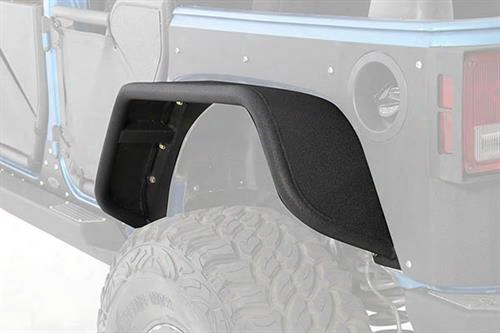 2010 Jeep Wrangler (jk) Smittybilt Xrc Flux Rear Fender Flare Set