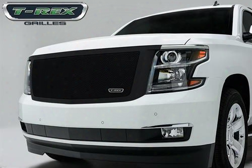 2015 Chevrolet Suburban 1500 T-rex Grilles Upper Class Series; Mesh Grille