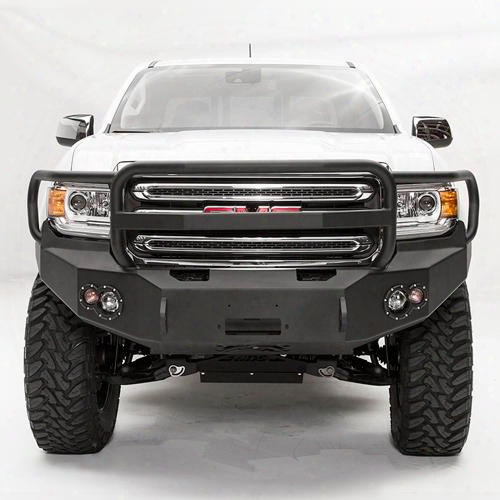 2015 Gmc Canyon Fab Fours Premium Front Winch Bumper With Full Grille Guard
