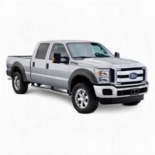 2017 Ford F-250 Super Duty Bushwacker Extend A Fender Flare Set