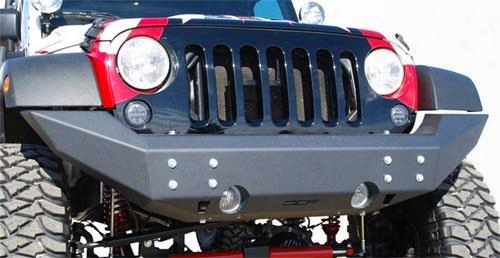 Off Camber Fabrications Off Camber Fabrications Front Full Width Non Winch Bumper With Line-x Coating (textured) - 131092lx 131092lx Front Bumpers
