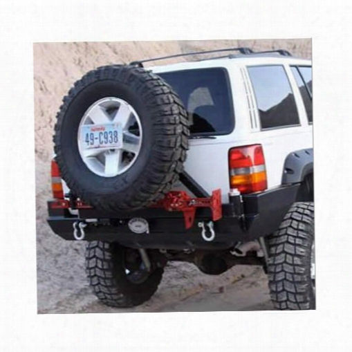 Rock Hard 4x4 Parts Rock Hard 4x4 Parts Rear Heavy-duty Bumper And Tire Carrier - Rh7000 Rh7000 Tire Carriers