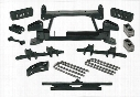 1995 CHEVROLET K2500 SUBURBAN Tuff Country 4 Inch Lift Kit