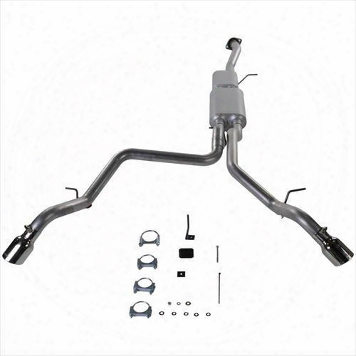 2001 Gmc Yukon Xl 1500 Flowmaster Exhaust American Thunder Cat Back Exhaust System