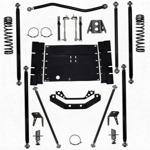 2003 Jeep Wrangler (tj) Rock Krawler 2.0 Inch Off-road Pro Long Arm Sysgem With 5 Inch Stretch