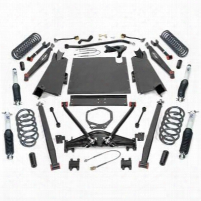 2004 Jeep Wrangler (lj) Pro Comp Suspension 4 Inch Dual Sport Long Arm Lift Kit With Es9000 Shocks