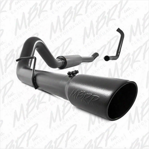 2005 Ford F-350 Super Duty Mbrp Black Series Cat Back Exhaust System
