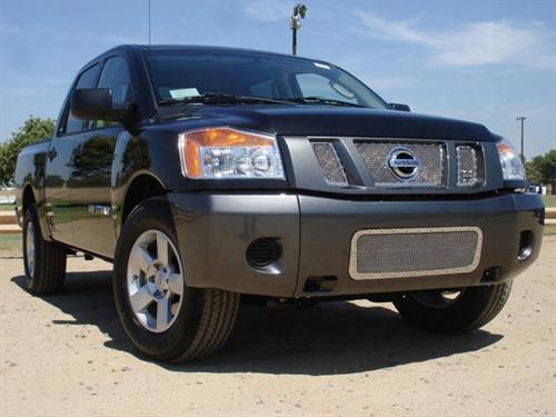 2006 Nissan Titan T-rex Grilles X-metal Mesh Grille