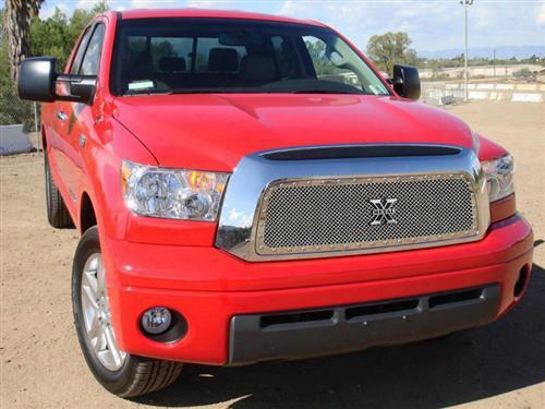 2009 Toyota Tundra T-rex Grilles X-metal; Mesh Grille