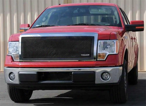 2010 Ford F-150 T-rex Grilles Upper Class; Mesh Grille Insert