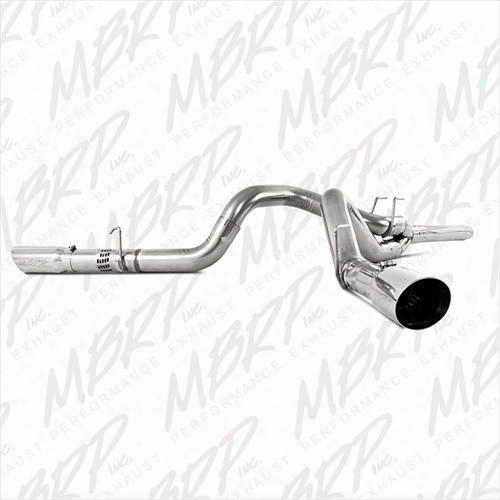 2010 Ford F-250 Super Duty Mbrp Pro Series Cool Duals Filter Back Exhaust System