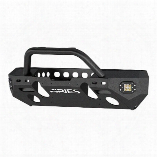 2010 Jeep Wrangler (jk) Aries Offroad Aries Offroad Trailchaser Front Bumper (option 3) (black) - 2082058