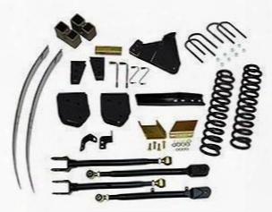 2012 Ford F-350 Super Duty Skyjacker 8.5 Inch Lift Kit With Hydro Shocks