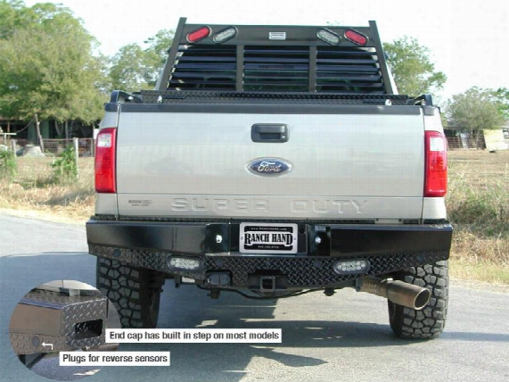 2013 Ford F-250 Super Duty Ranch Hand Sport Series Rear Bumper